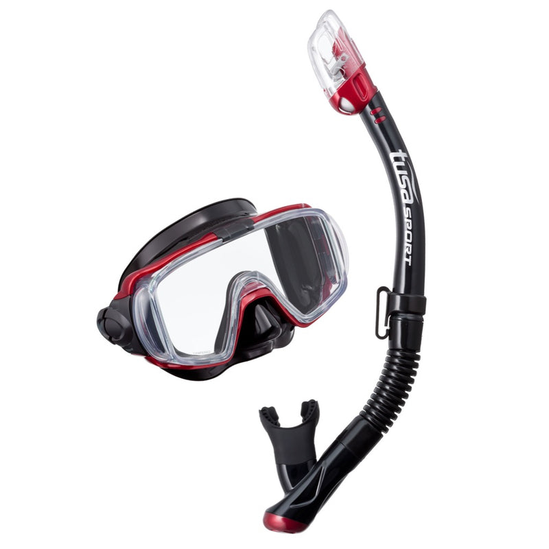 TUSA Mask and Snorkel Set - Visio Tri-Ex