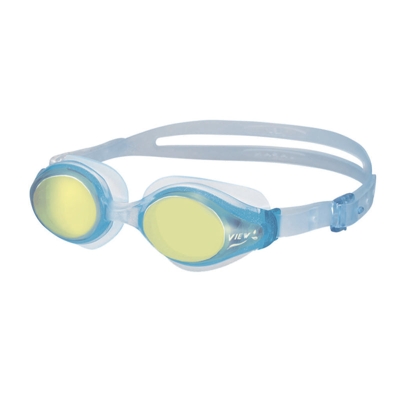 View Women's Selene Mirrored Ladies Swim Goggles - V820AMR