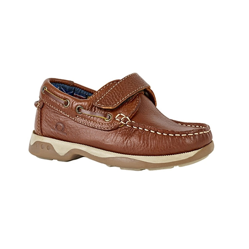 Chatham Anchor Kids Leather Shoe