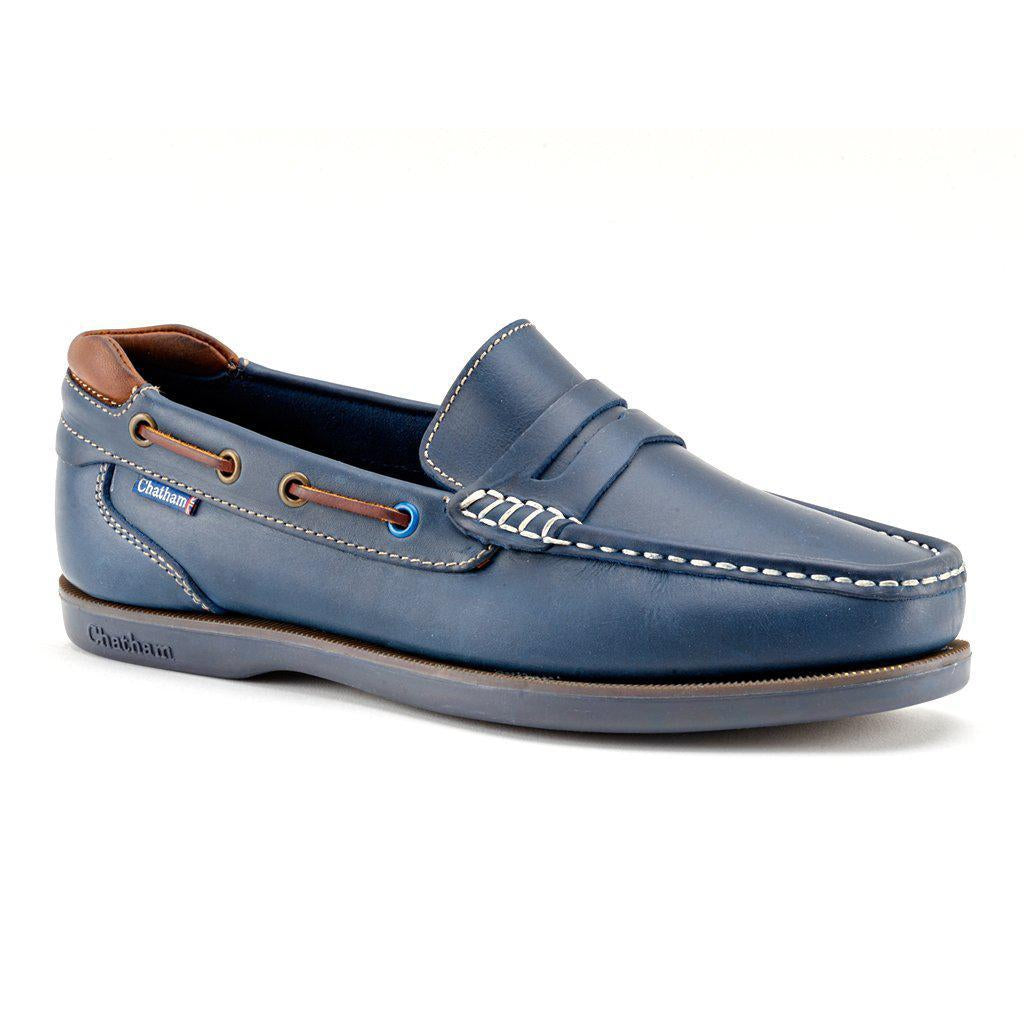 Chatham Balfour Premium Mens Slip On Boat Shoe