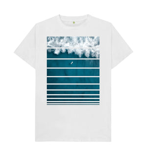 White Big Wave T-Shirt