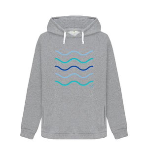 Light Heather Women's Making Waves Aqua Living Hoodie
