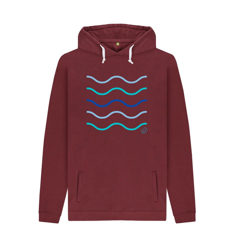 Red Wine Men's Making Waves Hoodie