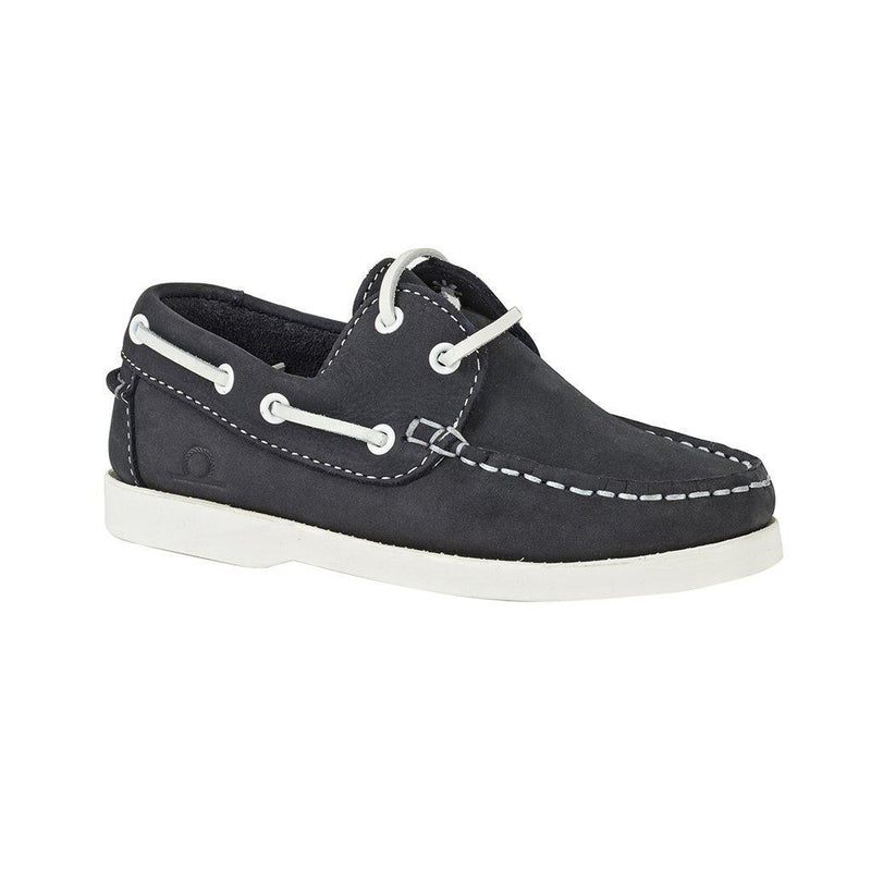 Chatham Henry Kids Deck Shoe - Navy