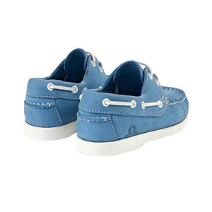 Chatham Henry Kids Deck Shoe - Turquoise
