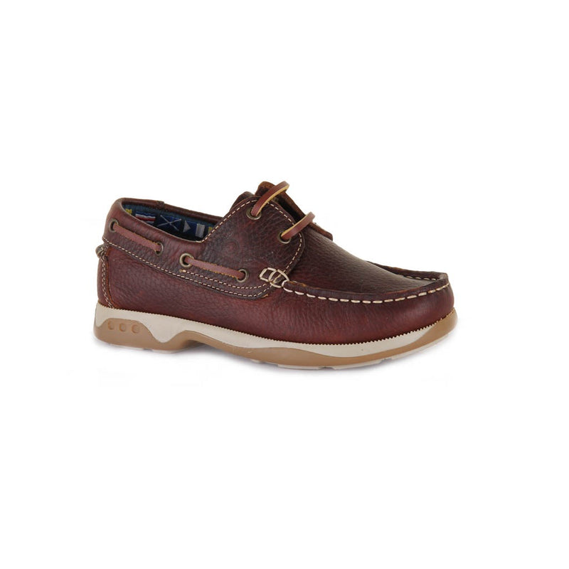 Chatham Skipper Kids Leather Boat Shoe