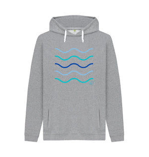 Light Heather Men's Making Waves Hoodie