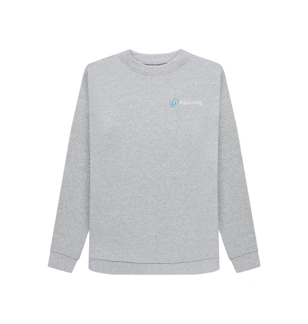 Light Heather Women's Aqua Living Sweatshirt