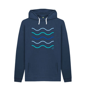 Navy Men's Making Waves Hoodie