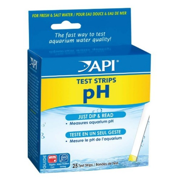 API PH TEST STRIPS