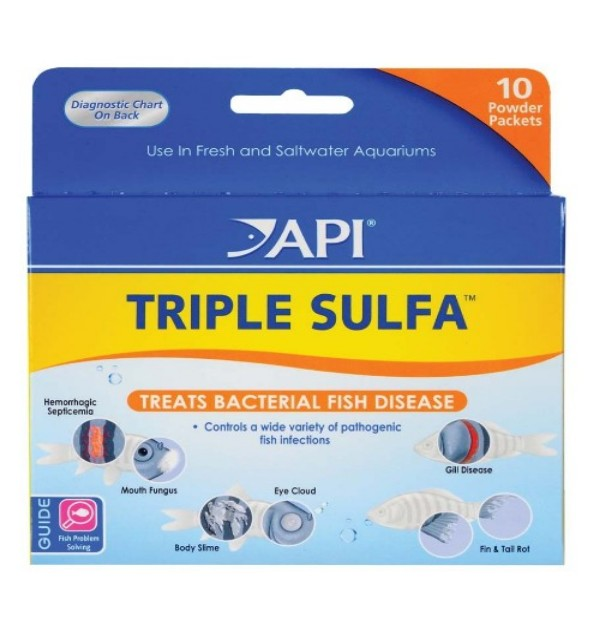 Triple Sulfa Powder Packets