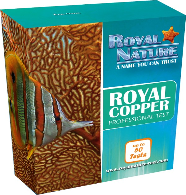 Royal Nature - Copper Professional Saltwater Test Kit