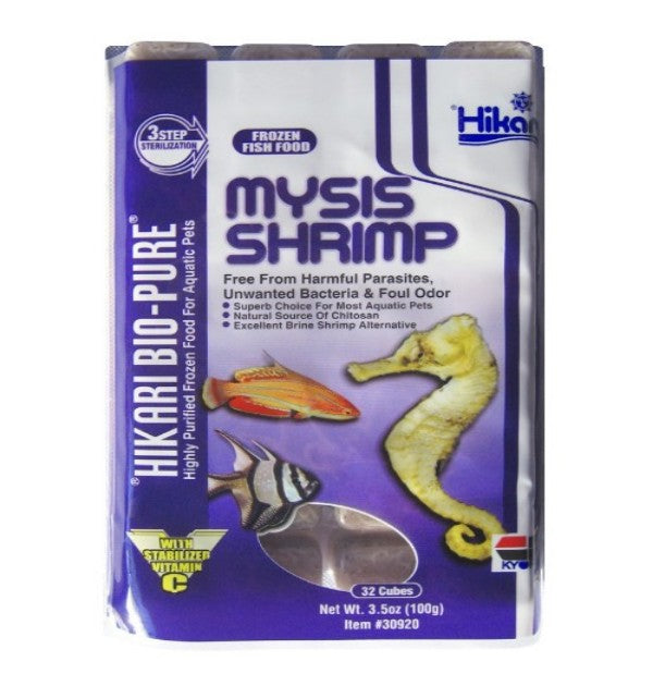 Frozen - Mysis Shrimp (3.5 oz) - Cube