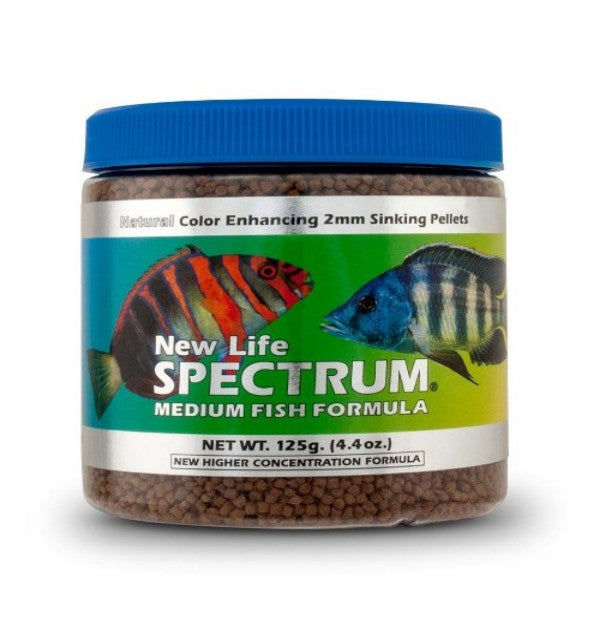 Medium Fish 125g - 2mm Sinking/Salt/Fresh