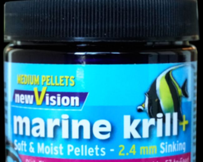 V2O-New Vision Marine Krill+Pellets 2.4mm 5.7 oz.