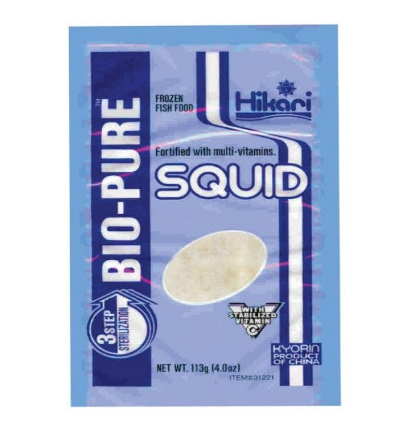 Frozen - SQUID CHUNKS (4.0 OZ.) - FLAT