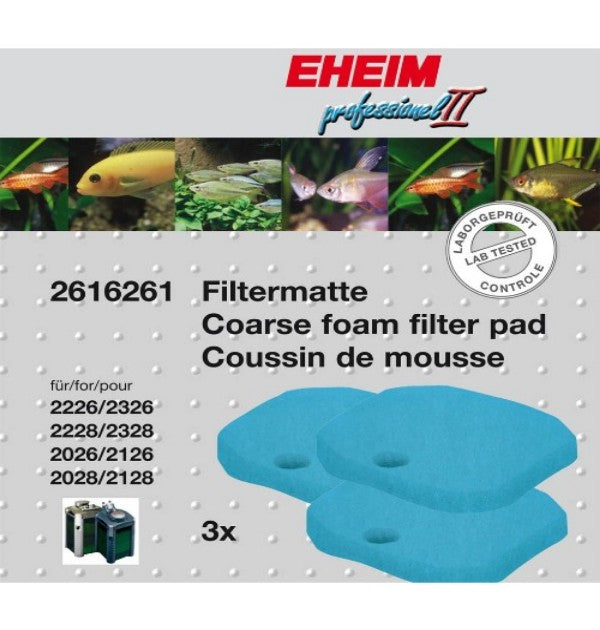 "Coarse filter pad blue for 2026-2128 ""prof II"""