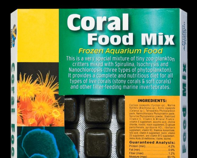 V2O-Coral Food Mix Blister 100/g
