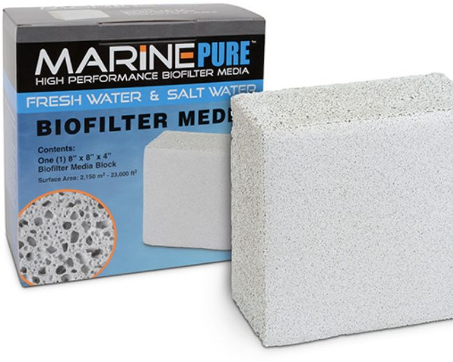 Marine Pure Biofilter Media Block 8x8x4