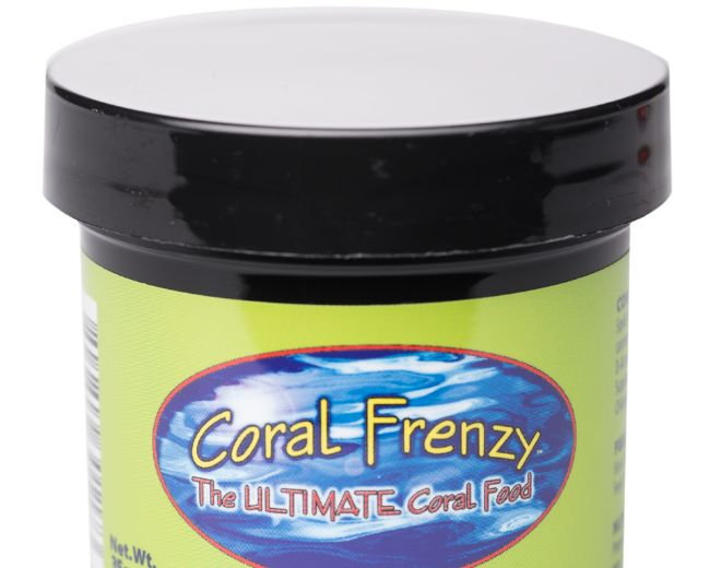 Coral Frenzy (Coral and fish Food) .5mm pellet 70/g