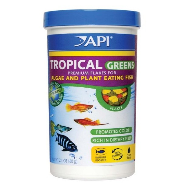 Tropical Greens Flakes 2.1 Oz