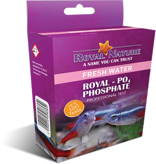 Royal Nature - Phosphate Professional Freshwater Test Kit