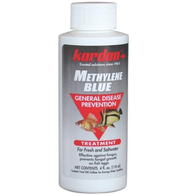 Methylene Blue Disease Preventative - 4 oz