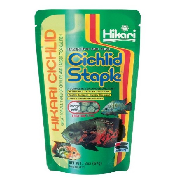 CICHLID STAPLEŽ (2 OZ.) - LARGE