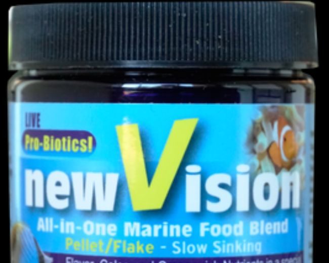 V2O-New Vision All-in-One Marine Food Blend 2.3 oz.