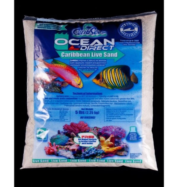 Ocean Direct - Natural Live Sand - 5lbs