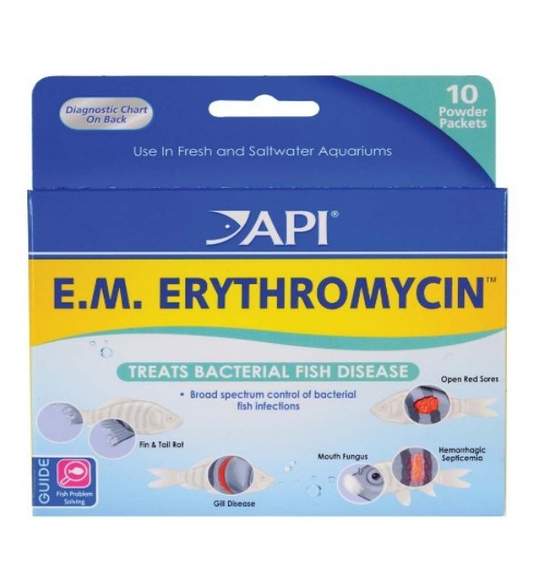 Em Erythromycin Powder Packets