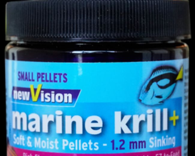 V2O-New Vision Marine Krill+Pellets 1.2mm 2.8 oz.