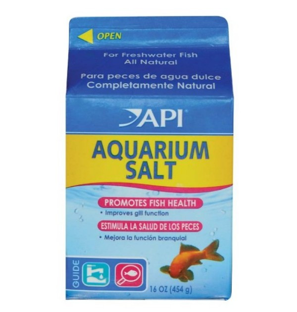 AQUARIUM SALT - PINT (16 OZ)
