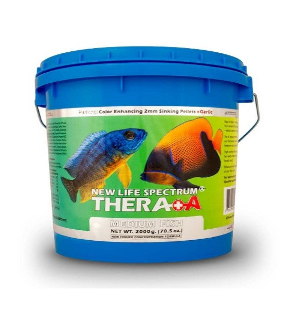 Thera-A Medium 2000g - 2mm Sinking/Salt/Fresh