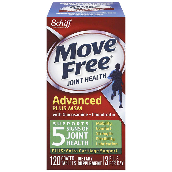 Move Free Advanced Plus Msm + Glucosamina 120 Caps