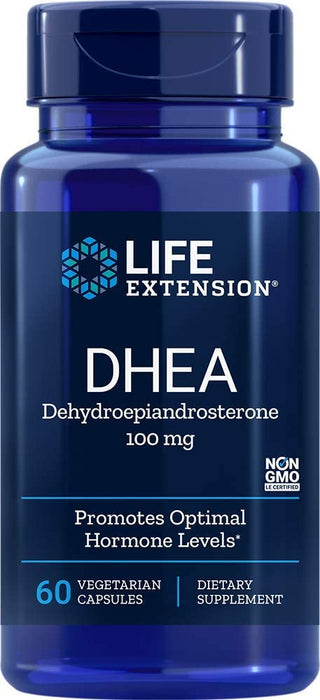 DHEA 100 Mg 60 Vegetarian Cápsulas Life Extension