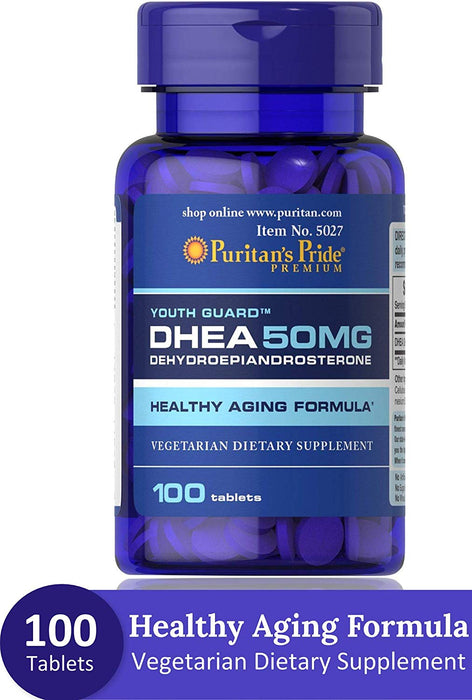 Dhea 50 Mg -100 Tablets Puritans Pride