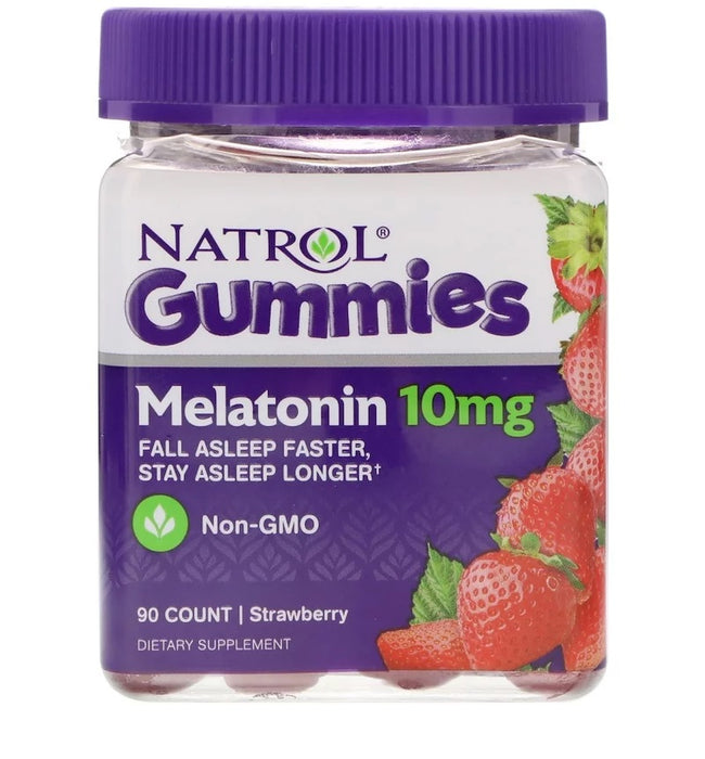 Melatonina 10 mg  Natrol - 90 Gomas