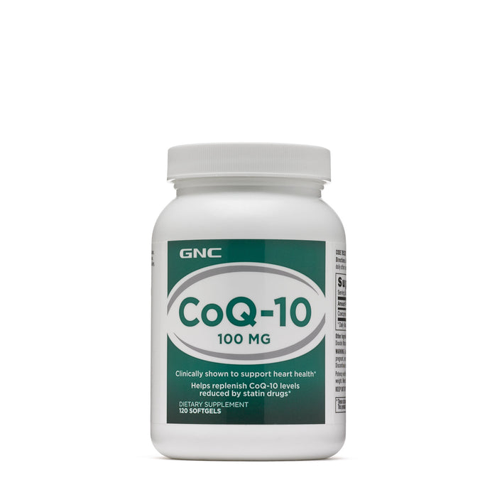 CoQ-10 -100 Mg  GNC- 120 Softgels