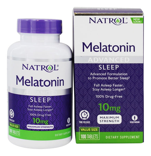 Melatonina NATROL - Advanced Sleep 10mg (100 tabletes)