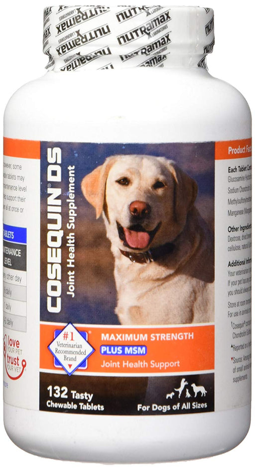 Cosequin Ds Plus Nutramax Suplemento Canino - 132 Cápsulas