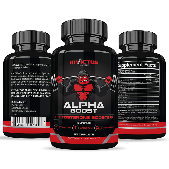 Extra Strength Testosterone Booster for Men 60 Cáps
