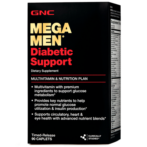 GNC Mega Men Diabetic Support - 90 Cápsulas