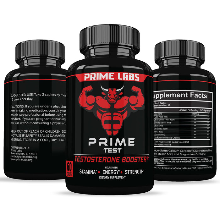 Prime Labs - Men's Test Booster - Natural Stamina 60 Cáps