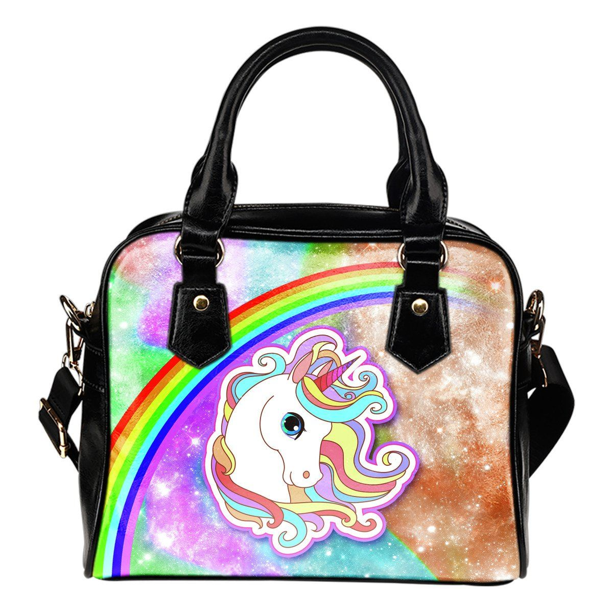 Unicorn Sparkle Shoulder Handbag - Express Delivery Purses