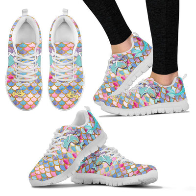 Mermaid Euphoria Women's Sneakers Mermaid Shoes