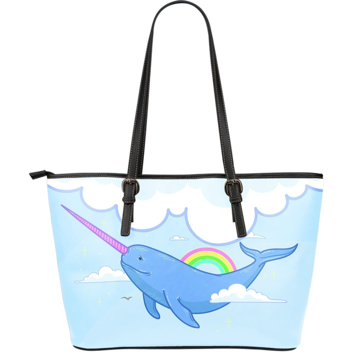 Narwhal Unicorn Shoulder Bag Purse Purses