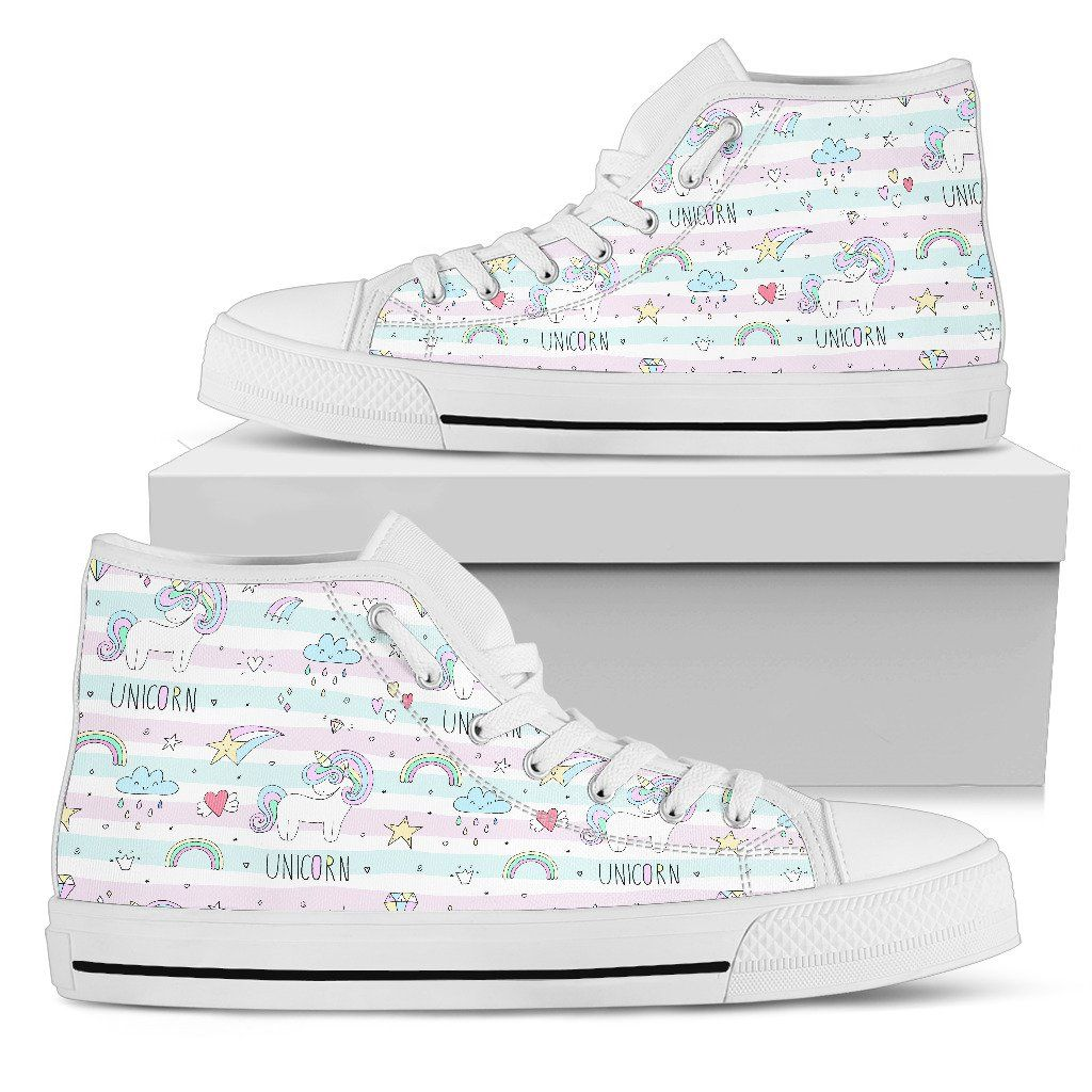 Sweet Unicorn Women's High Tops sneakers
