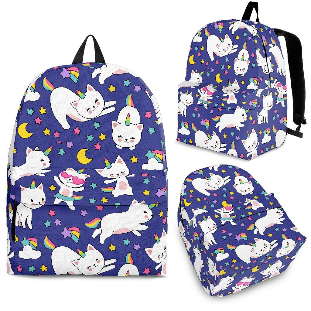 Kitty Cat Unicorn Backpack Unicorn Backpacks