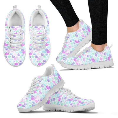 Mermaid Scales Women's Sneakers Mermaid Shoes